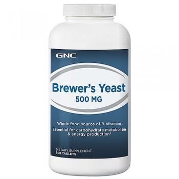 GNC Levedura de Cerveja 500mg (Fonte de Vitamina B)