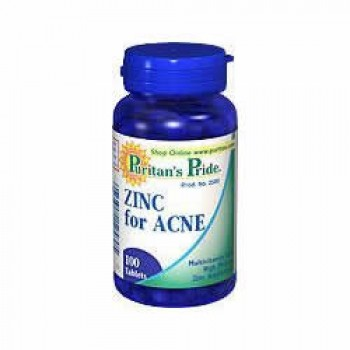 Zinco 50mg (Tratamento p/ Acne) Puritan