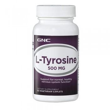 GNC L-Tirosina 500mg (Massa Muscular)
