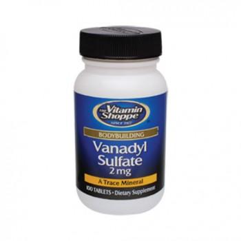 Sulfato de Vanadio 2mg (Massa Muscular + Diabetes) Vitamin Shoppe