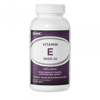 GNC Vitamina E 1000 UI (Tocoferol)
