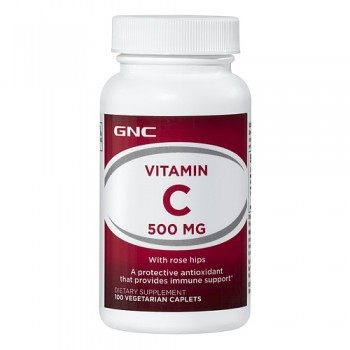 GNC Vitamina C 500mg 100