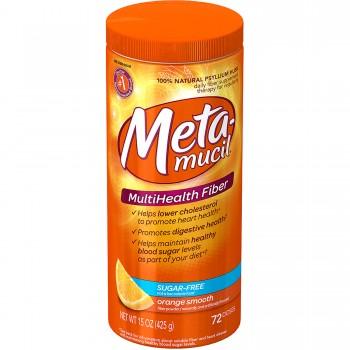 Metamucil Sem Açúcar 425gr (Fibra p/ Regularidade Intestinal) 72
