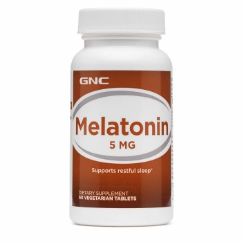 GNC Melatonina 5mg (Insônia)