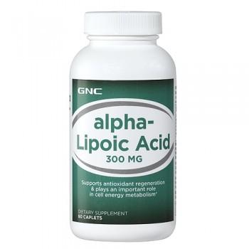 GNC Ácido Alfa-Lipóico 300mg (ALA)