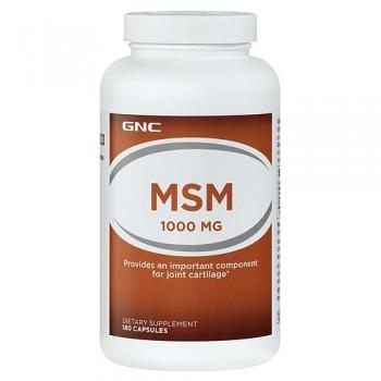GNC MSM 1000mg (Enxofre Orgânico)