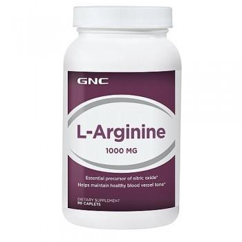 GNC L-Arginina 1000mg 90 (Vaso Dilatador)