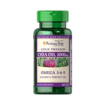 Óleo de Chia 100mg (Omega 3-6-9) Puritan