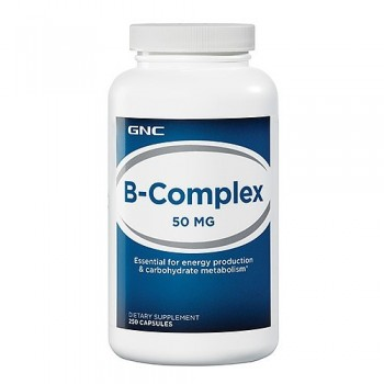 GNC Vitamina Complexo-B 50mg (Energia + Anti-Stress) 250