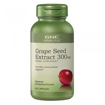 GNC Semente de Uva Extrato 300mg (Antioxidante)