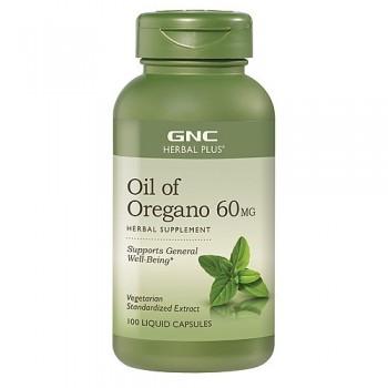 GNC Óleo de Orégano 60mg (Anti-Bacteriano)
