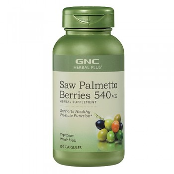GNC Saw Palmetto 540mg (Próstata) 100