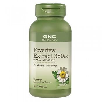 GNC Matricaria/Feverfew 380mg (Enxaqueca + Articulações)