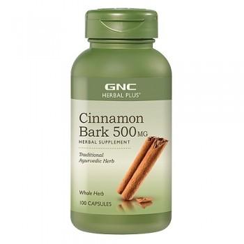 GNC Canela Concentrado 500mg (Diabetes + Circulação Saudável)