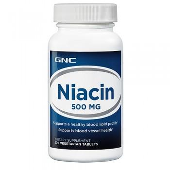 GNC Niacina 500mg (B-3) 100