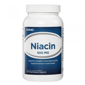 GNC Niacina 500mg (B-3) 240