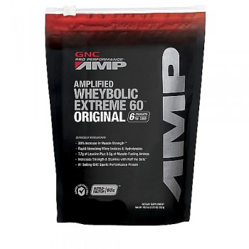 GNC Whey Protein Wheybolic AMP (baunilha)