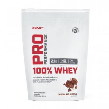 GNC 100% Whey Protein 408g (Chocolate)