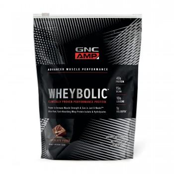 GNC Whey Protein Wheybolic AMP (Chocolate)