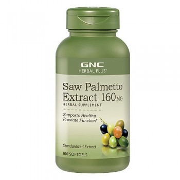 GNC Saw Palmetto Extrato 160mg (Próstata) 100