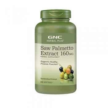 GNC Saw Palmetto Extrato 160mg (Próstata) 200