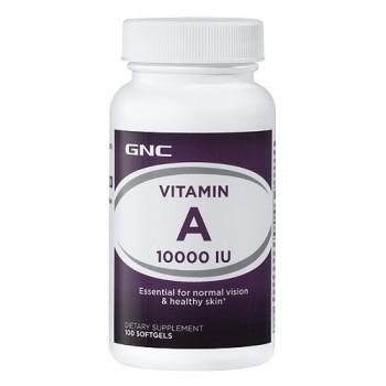 GNC Vitamina A 10.000 UI (Retinol)