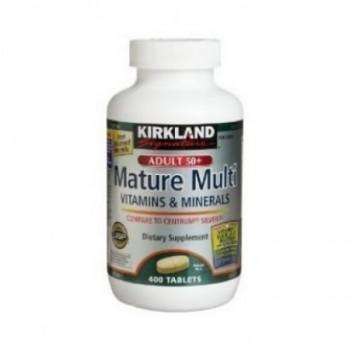 Multivitamina Diaria (Adultos Acima dos 50) Kirkland 400 (1 Ano de Terapia)
