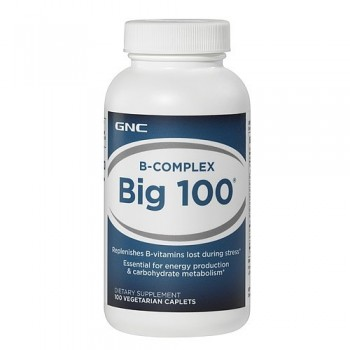 GNC Vitamina Complexo-B 100mg (Energia + Anti-Stress) 100