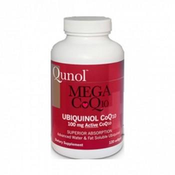 Ubiquinol 100mg Qnol (120 Cápsulas)