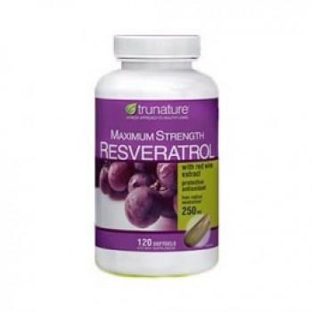 Resveratrol 250mg + Extrato de Vinho Tinto 10mg Trunature (Antioxidante) 140