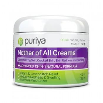 Puriya Creme p/ Pele (Eczema, Psoríases, Dermatites e Irritação)