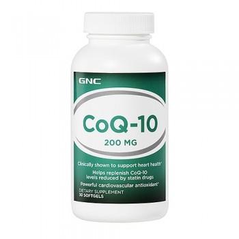 GNC Coenzima Q-10 200mg (CoQ-10) 30