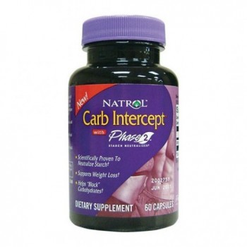 Bloqueador de Carboidratos (Carb Intercept) Natrol 120