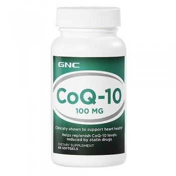 GNC Coenzima Q-10 100mg (CoQ-10) 60