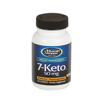 7-KETO 50mg Vitamin Shoppe (Emagrecedor Natural)