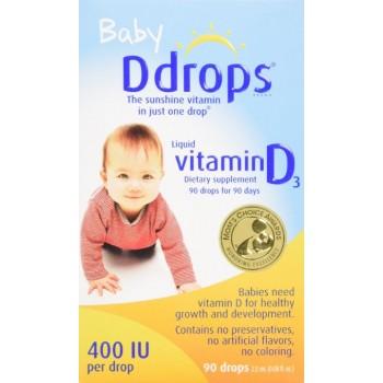 Vitamina D-3 400 UI p/ Bebês (em Gotas)
