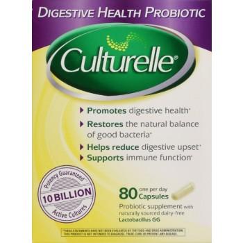 Culturelle Probiótico 10 Bilhões (80 Cápsulas)