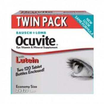 Ocuvite c/ Luteína 2mg  Baush & Lomb (Saúde dos Olhos) 240
