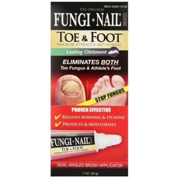 Fungi-Nail Pomada 20gr (Tratamento p/ Micose de Unha e Dedos)