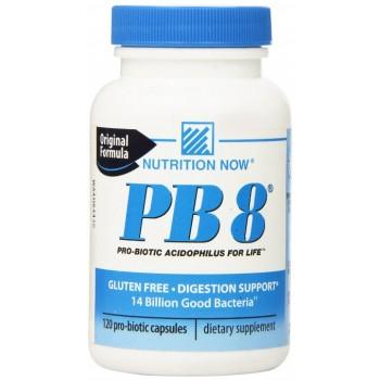 PB8 Probiótico Acidophilus (12 Bilhões de Bactérias Vivas) 120