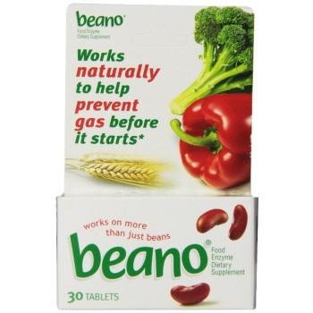 Beano Enzima Digestiva (Prevenção de Gases) 30 Comprimidos