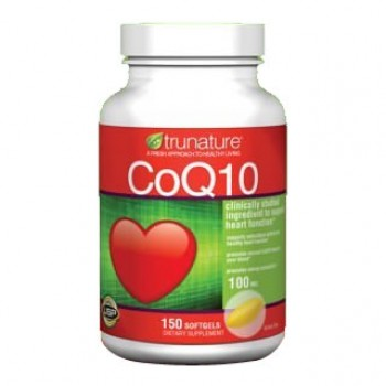 Coenzima Q10 100mg (Coq-10) Trunature 150 Cápsulas