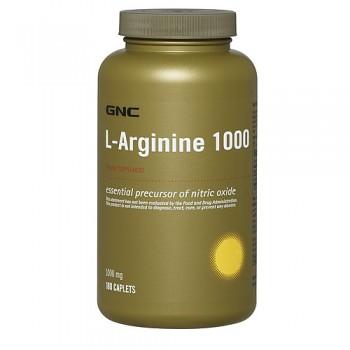 GNC L-Arginina 1000mg 180 (Vaso Dilatador)