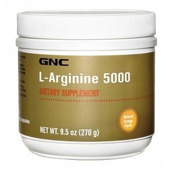 GNC L-Arginina em Pó 5000mg (Vaso Dilatador)