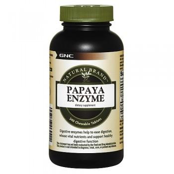 GNC Papaia Enzima 240 (Digestão de Proteínas)