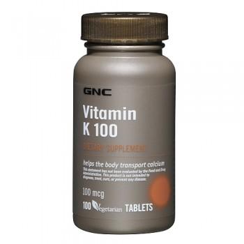 GNC Vitamina K 100mcg