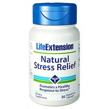 Natural Stress Relief (Alívio Natural do Estresse) Life Extension 30