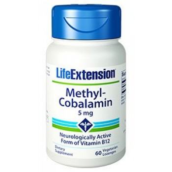 Metilcobalamina 5mg (Vitamina B-12) Life Extension 60