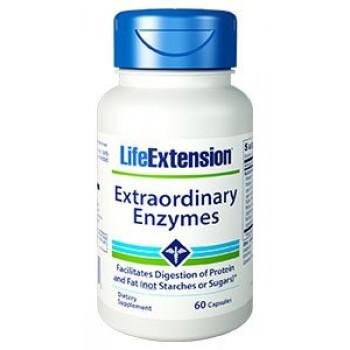 Enzimas Extraordinárias (Protease, Celulase, Lipase) Life Extension 60