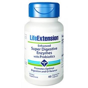 Super Enzimas Digestivas (Amilase, Protease e Lipase) Life Extension 60
